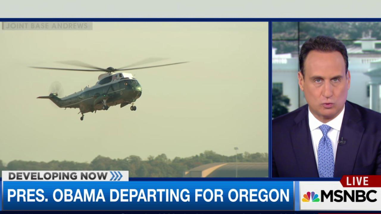 Protesters expected during Obama's Oregon...
