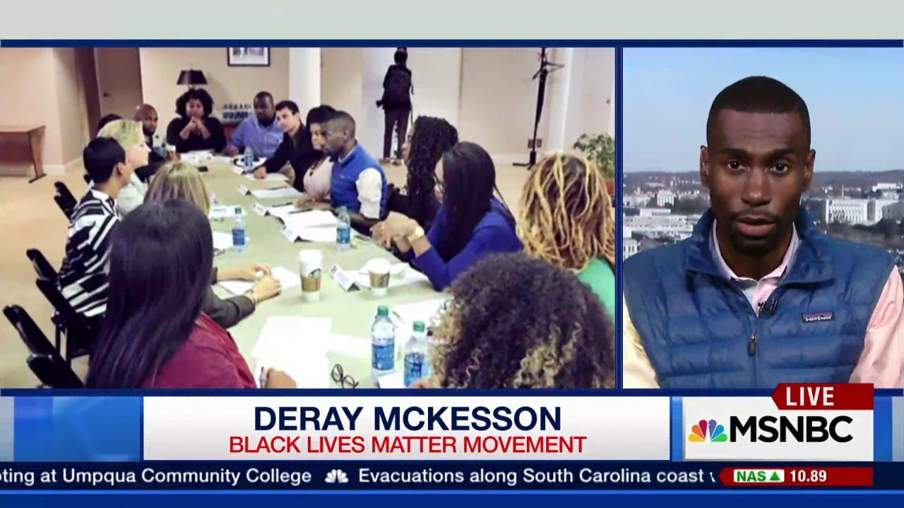 Clinton meets with 'Black Lives Matter'...