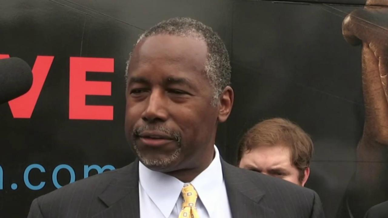 Carson clarifies explosive remarks about guns