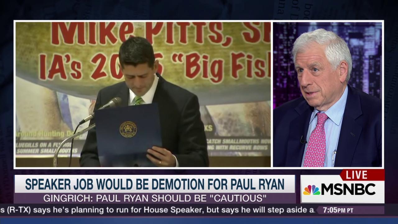 Fmr. GOP Senator: Speaker is 'impossible' job