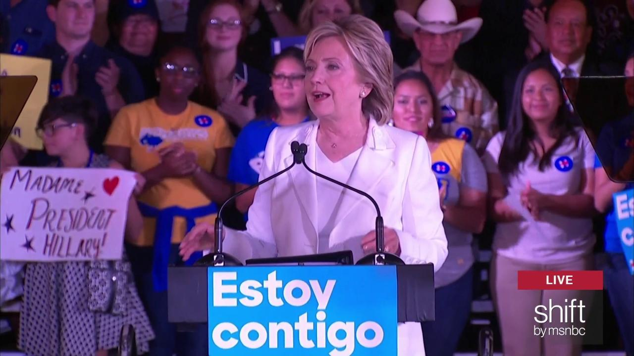 Hillary compares young Bill Clinton to Viking