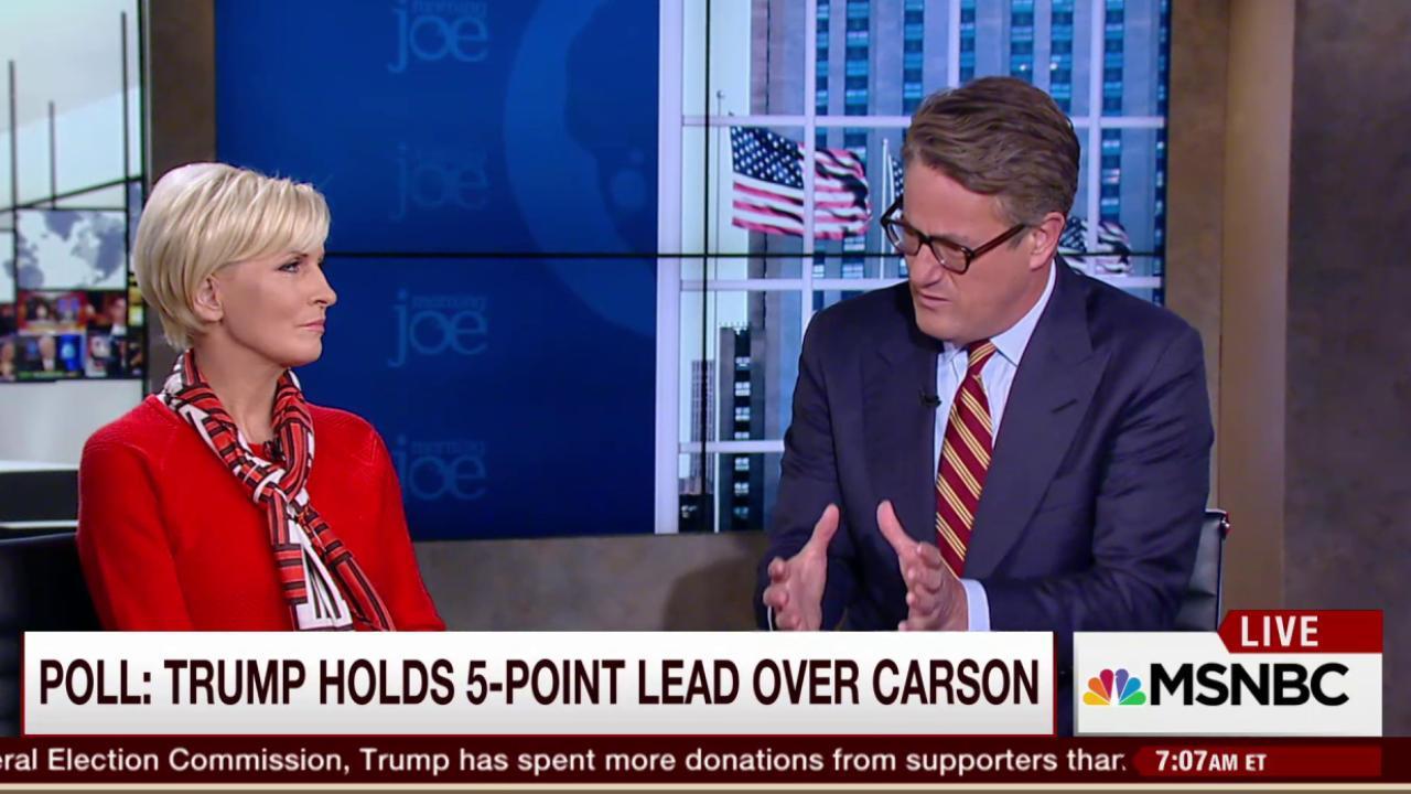 Joe: I put money on Carson winning Iowa