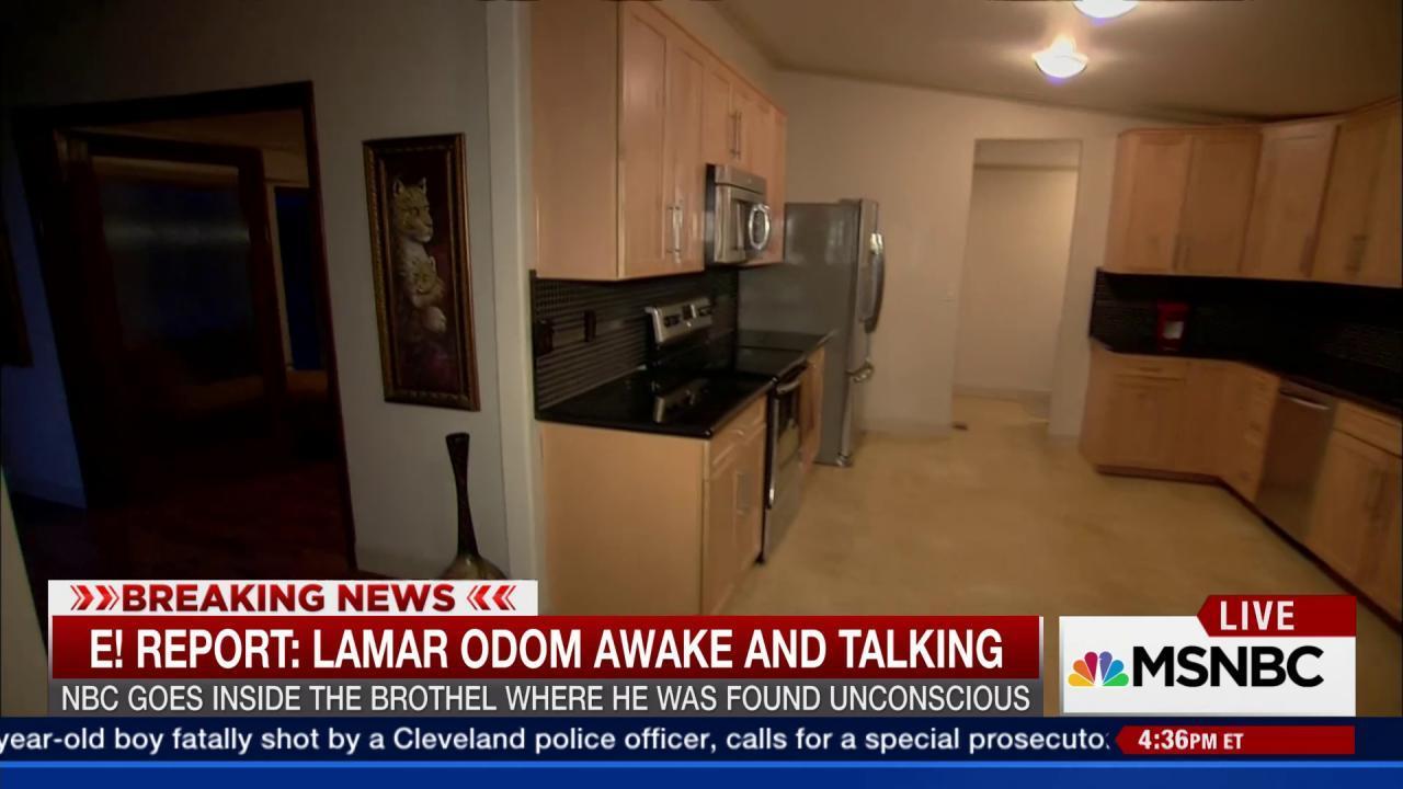 NBC visits brothel where Odom was found