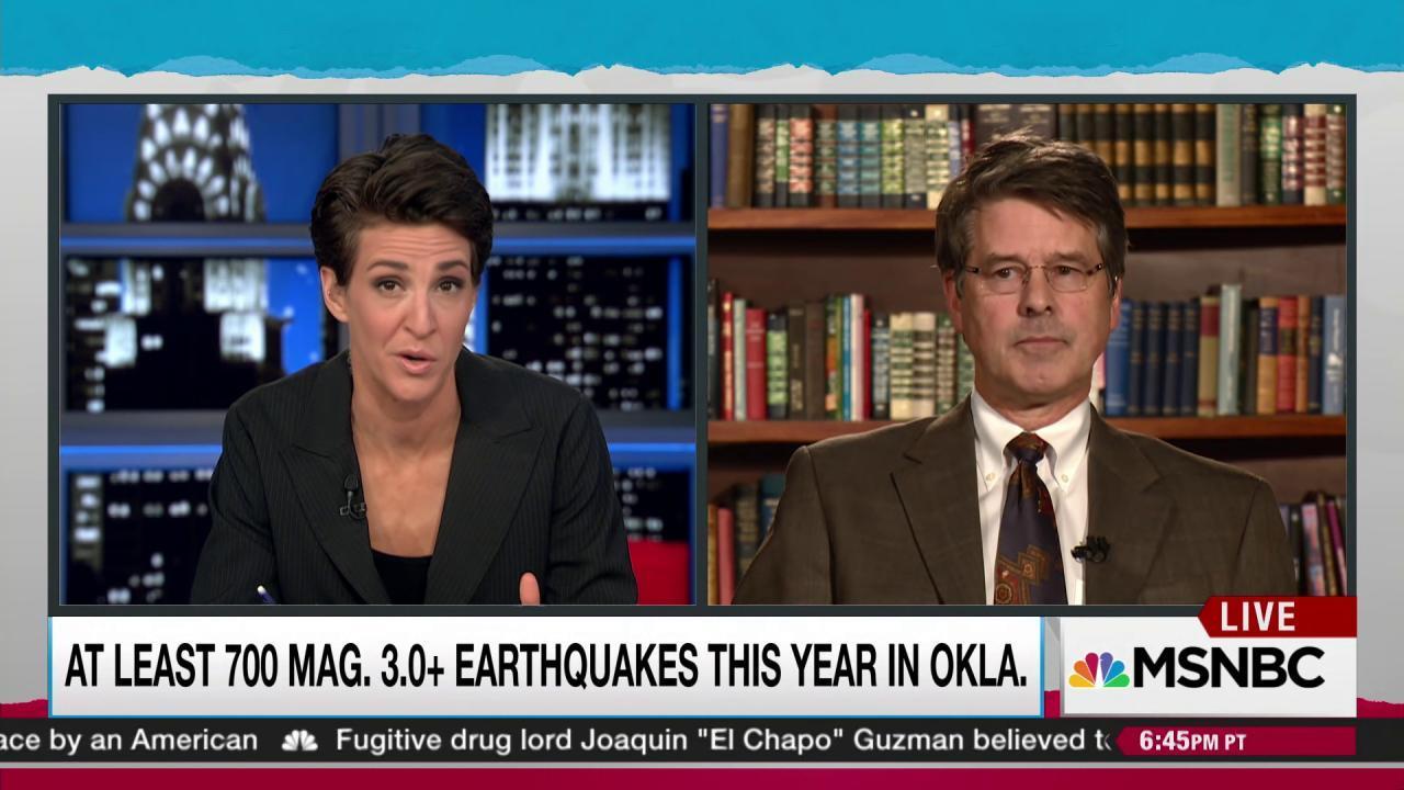 New alarm: 'frackquake' threat to oil storage