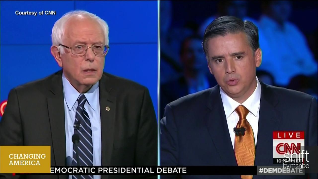 Did CNN stereotype their debate anchors?