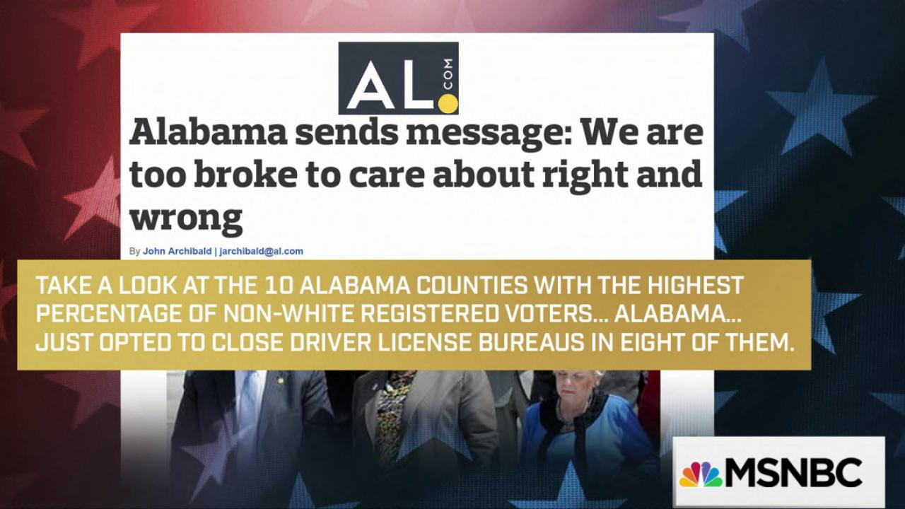DMV closures spark voting rights debate