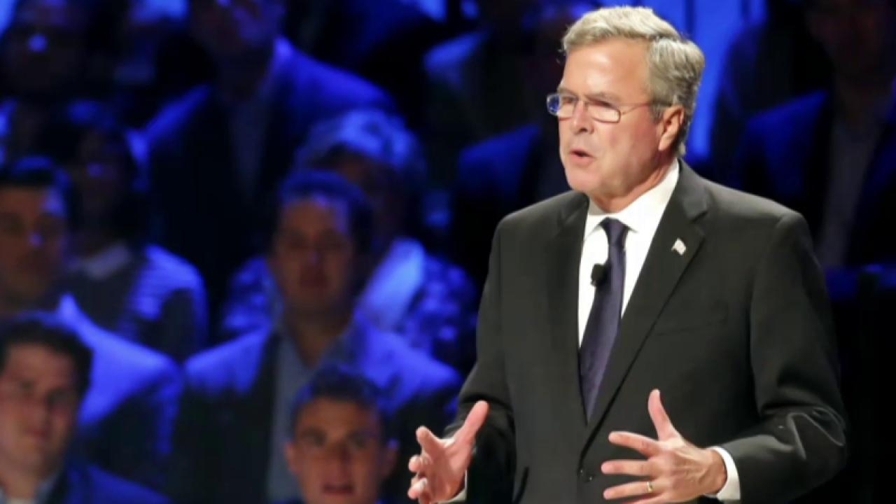 Bloomberg: Jeb Bush slashing payroll