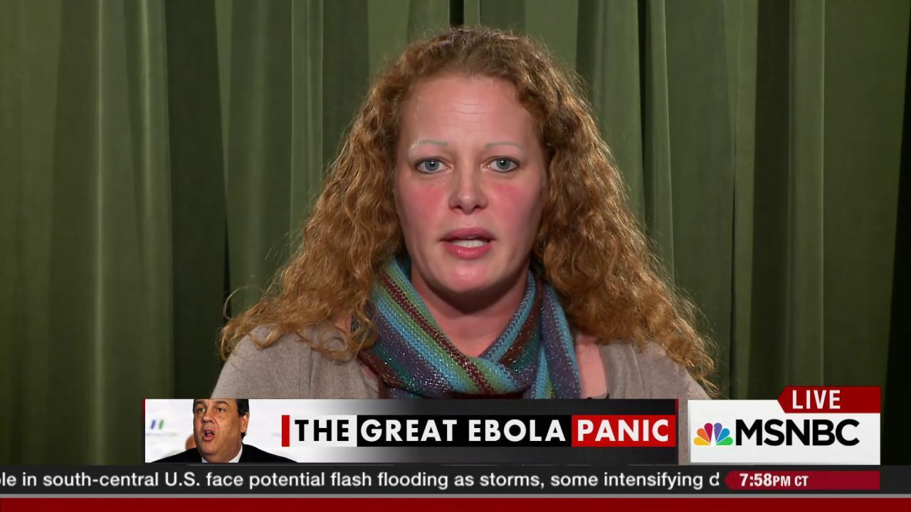 'Ebola nurse' Kaci Hickox suing Chris...