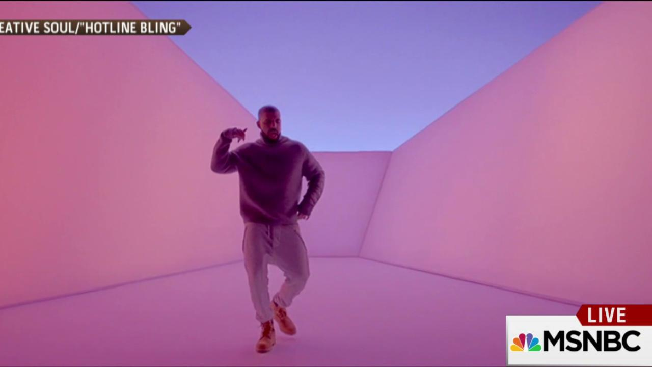 How 'Hotline Bling' makes it OK to be dorky