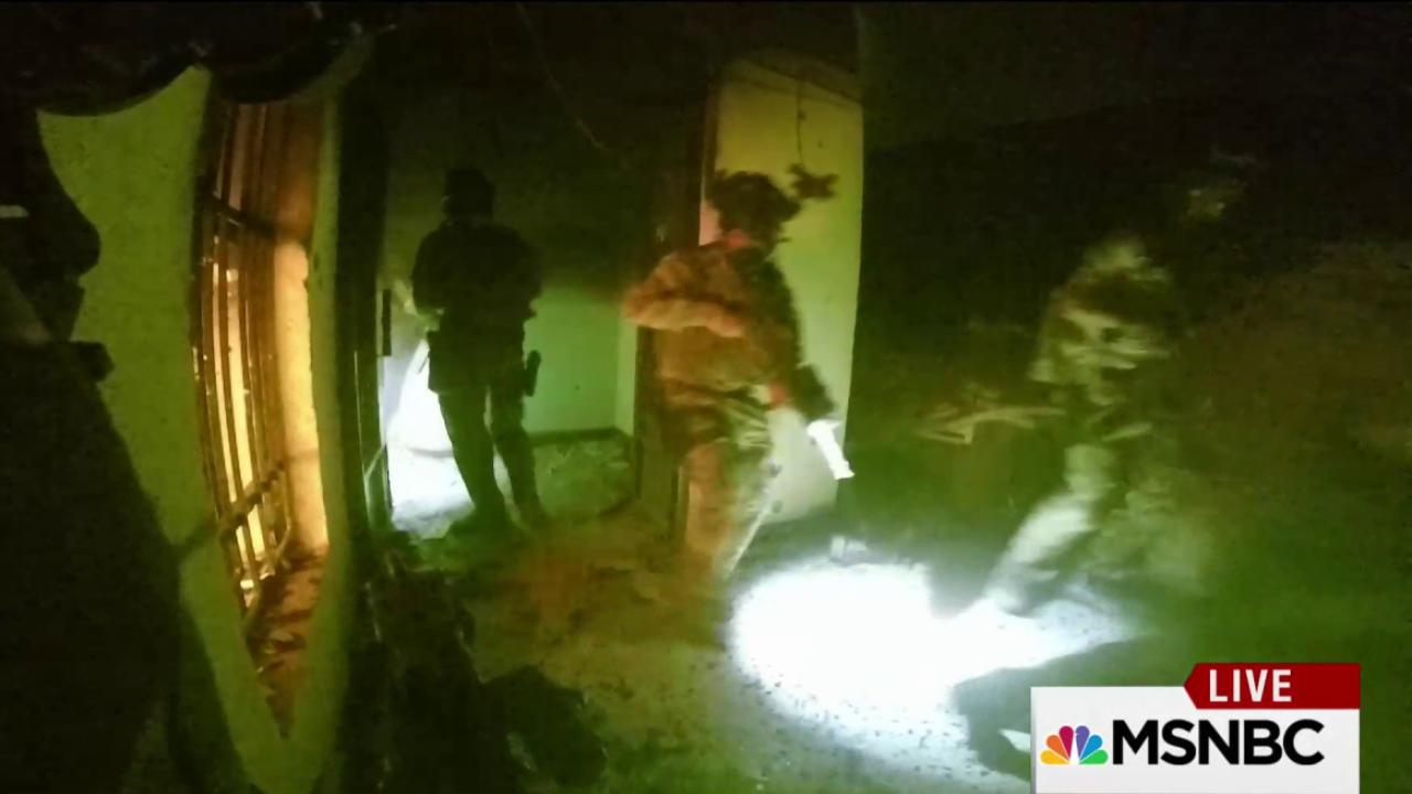 New video from inside ISIS prison raid