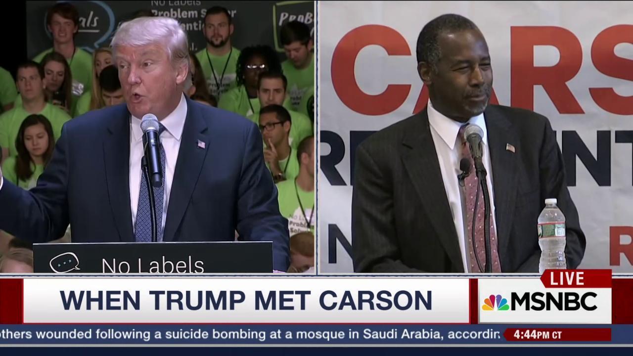 When Trump Met Carson