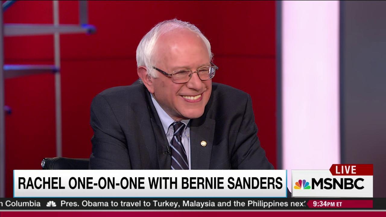 Sanders on outreach to African-Americans,...