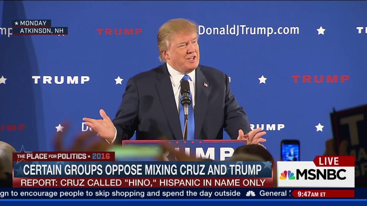 Buzzfeed: Latinos unite against Donald Trump