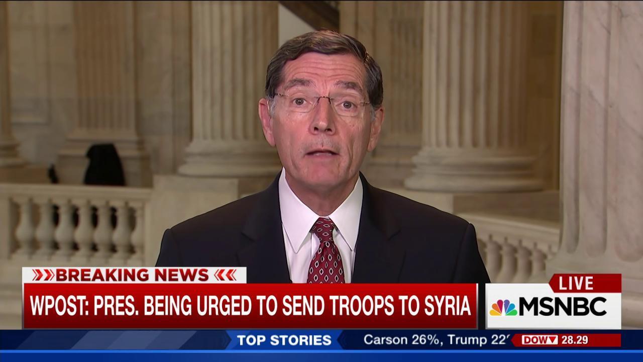 Secy. Kerry briefs senators on Syria plans