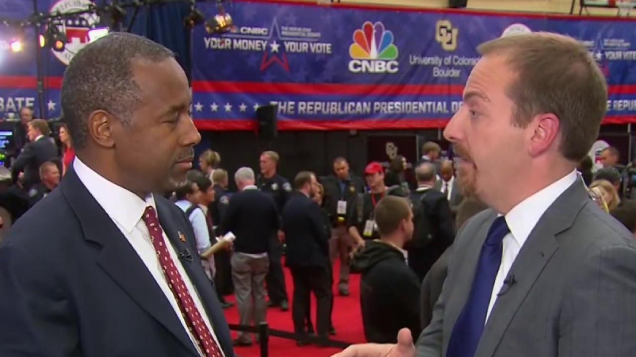 Ben Carson details tax plan, reacts to debate