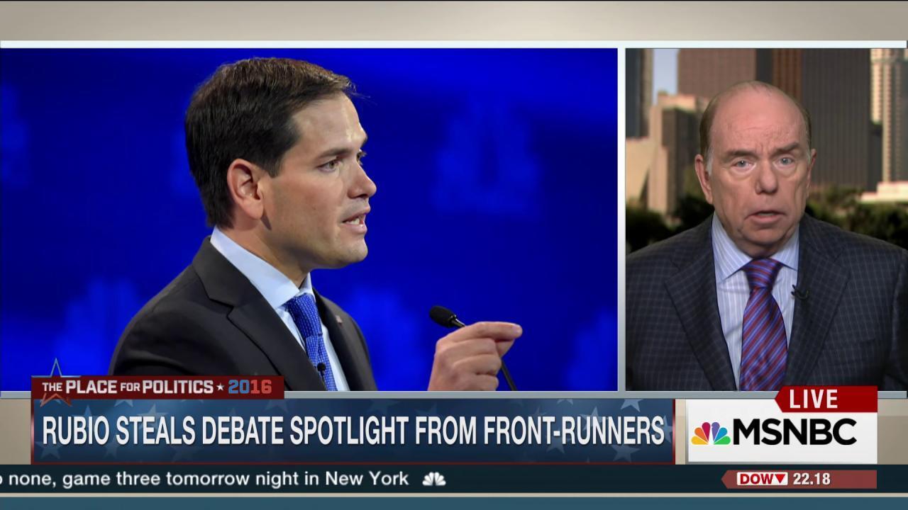 Marco Rubio shines in debate spotlight