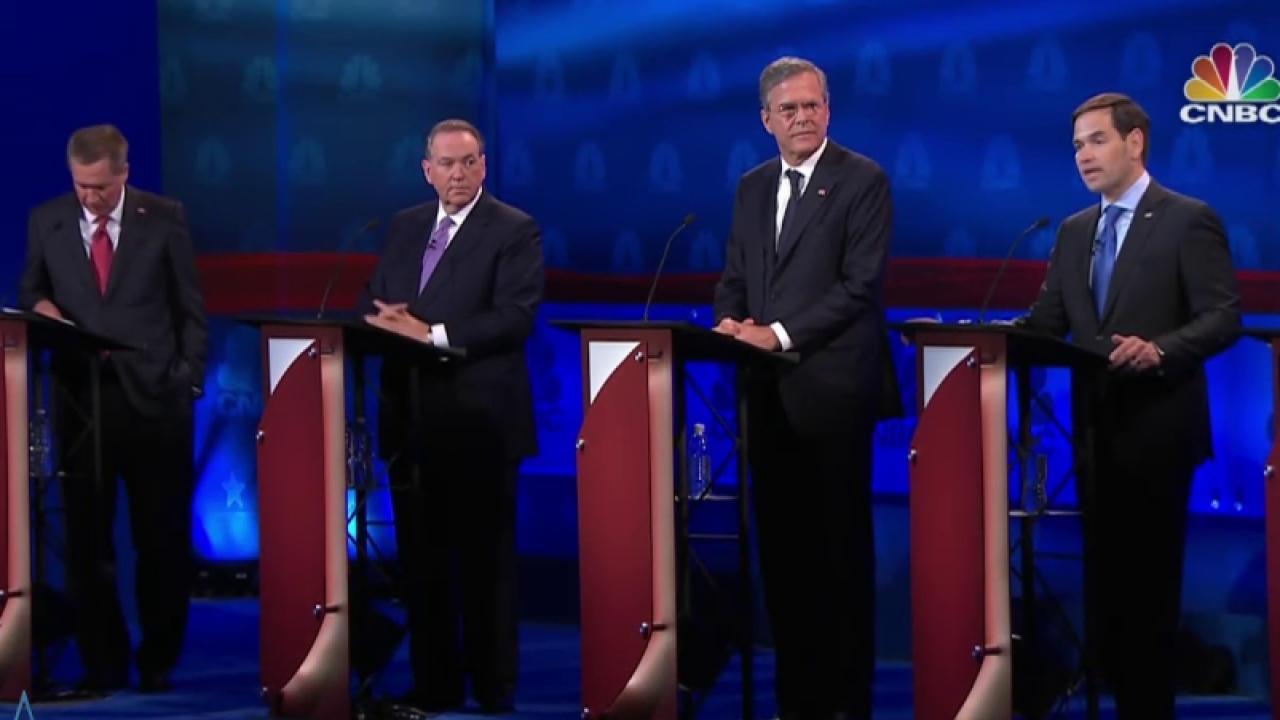 Candidates spinning debate performances