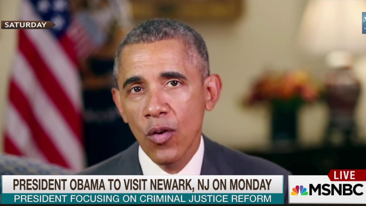 Obama to visit Newark for criminal justice...