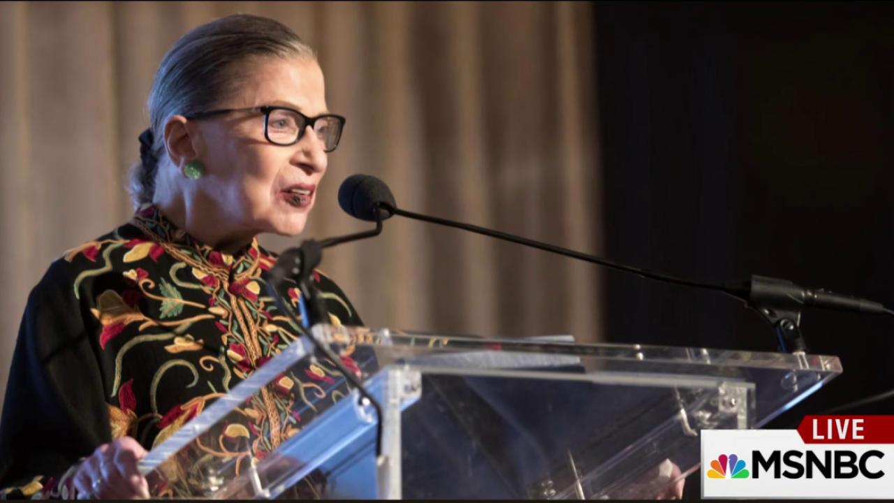 How Justice Ginsburg became 'notorious'