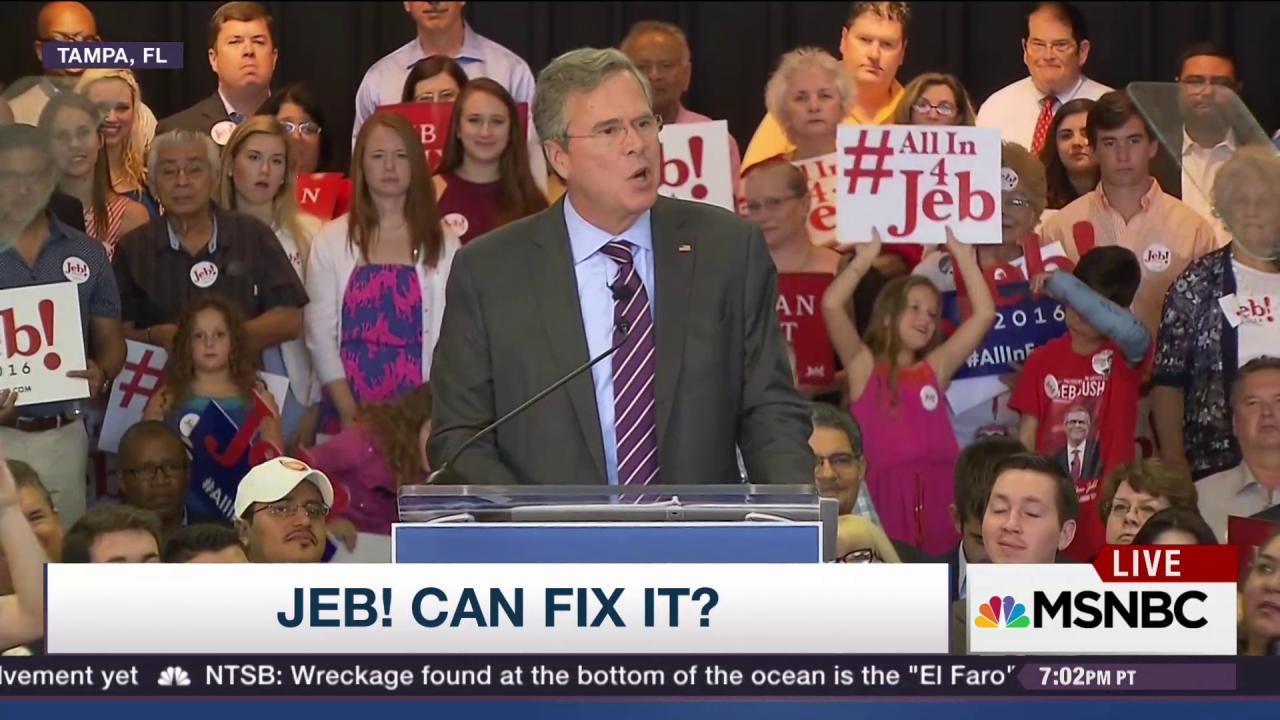 Is Jeb! causing havoc for GOP establishment?
