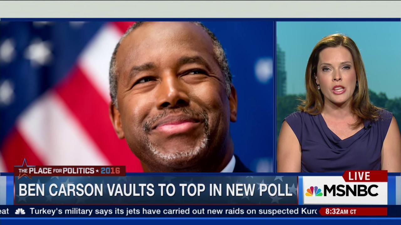 Carson commands new poll