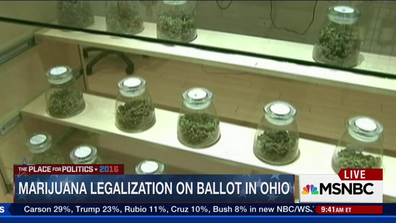 Big names back marijuana legislation in Ohio