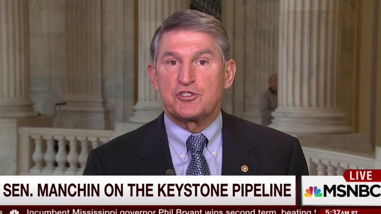 Manchin: Hillary Clinton is very trustworthy