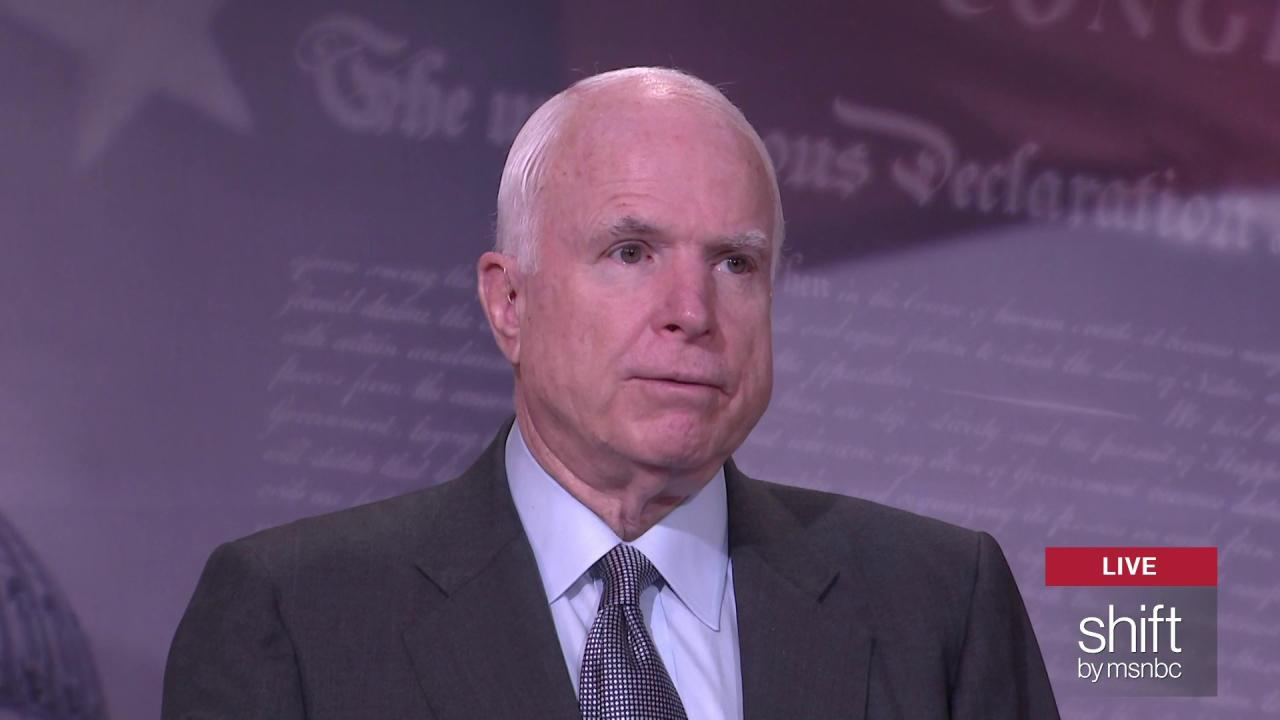John McCain tackles 'paid patriotism'