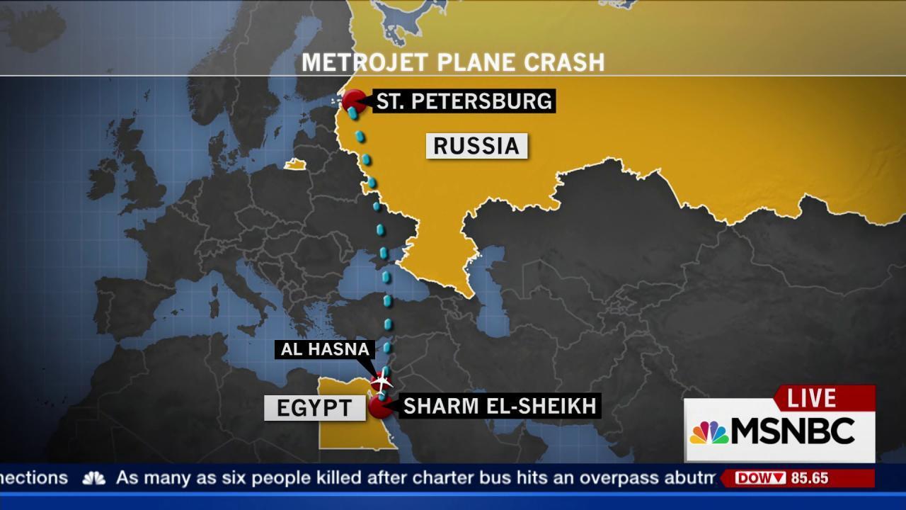 Putin suspends all Russian flights to Egypt