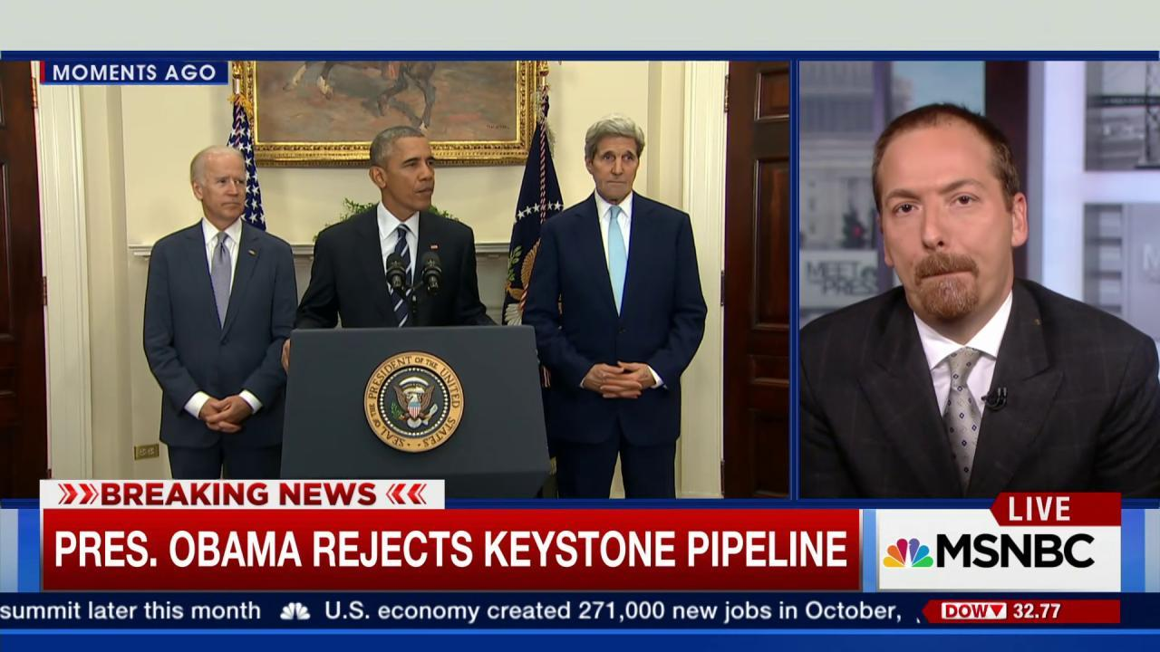 Obama's rejection of Keystone Pipeline a ...