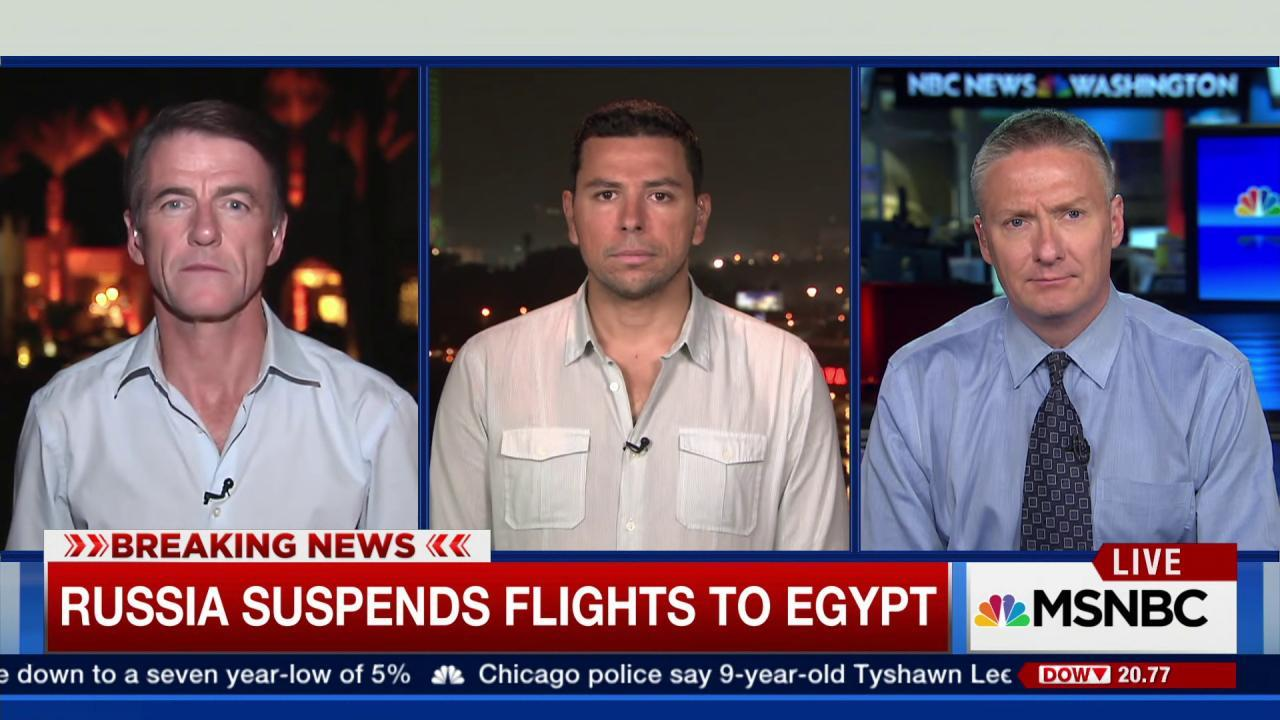 Russia suspends all flights to Egypt