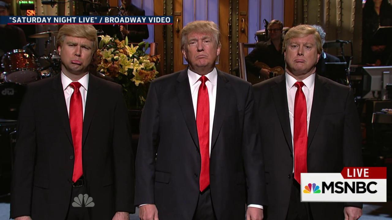 Did Donald Trump's candidacy survive SNL?