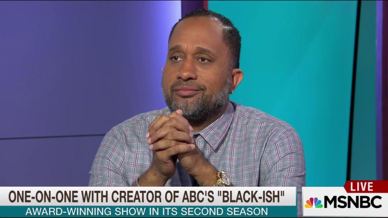 Creator of 'Black-ish' on tackling race in...