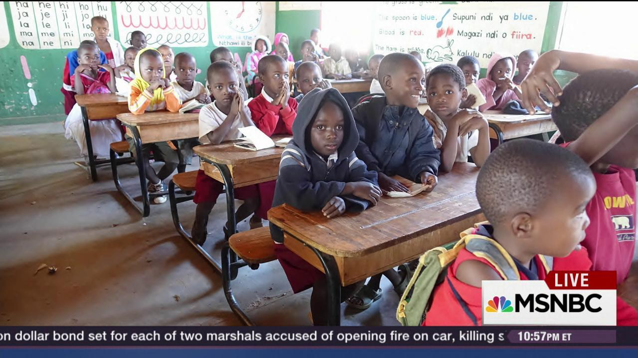 Lawrence reflects on his trip to Malawi