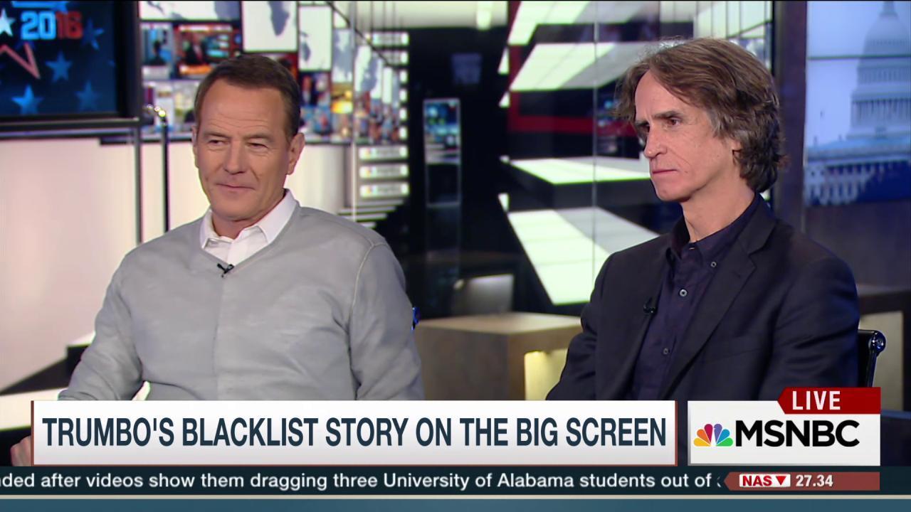 Trumbo's blacklist story hits the big screen
