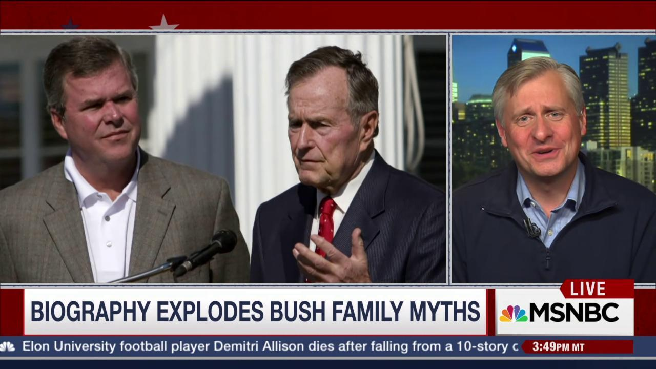 How 'Bush 41' Bio Impacts 2016 Campaign