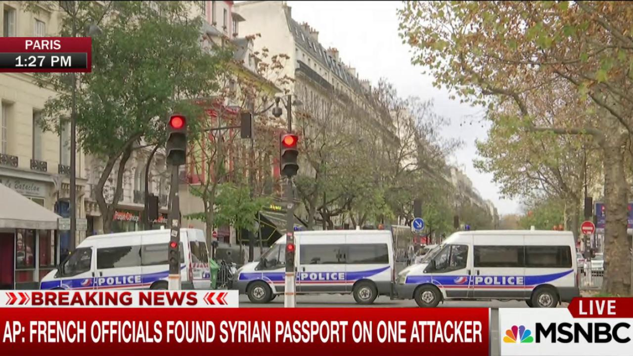 AP: Officials found Syrian passport on...