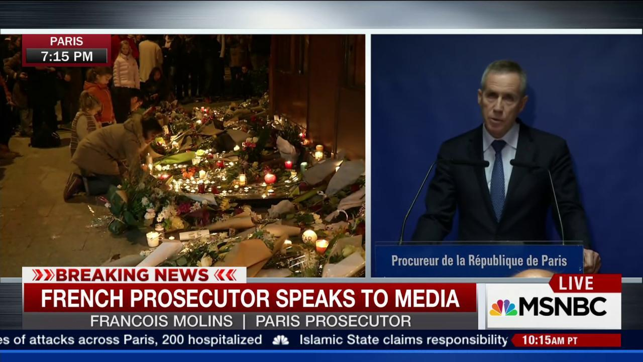 Molins: Evidence links attackers to Belgium