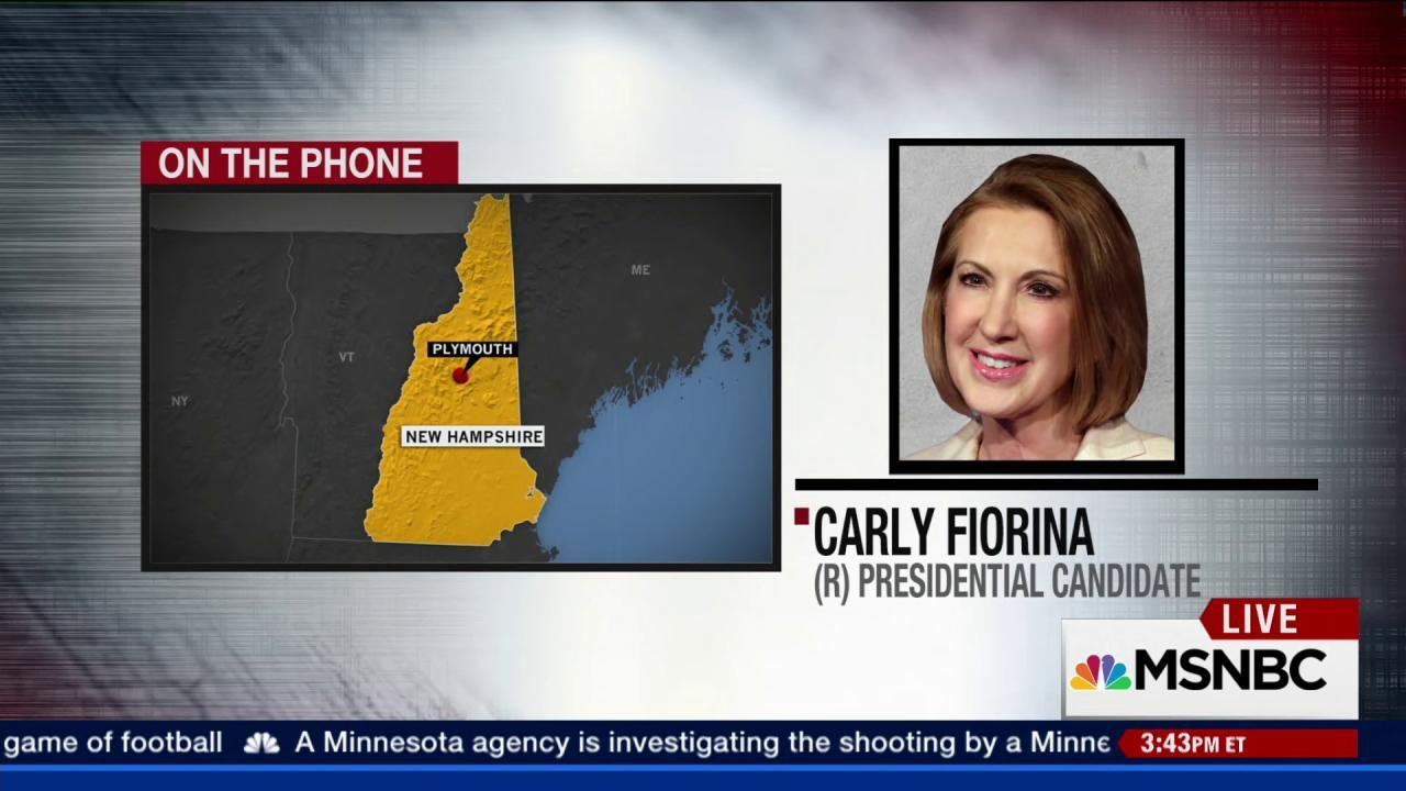 Fiorina: Obama's ISIS comments disheartening