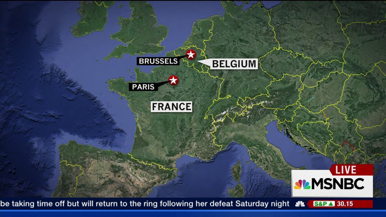 Raids continue in Belgium after Paris attacks