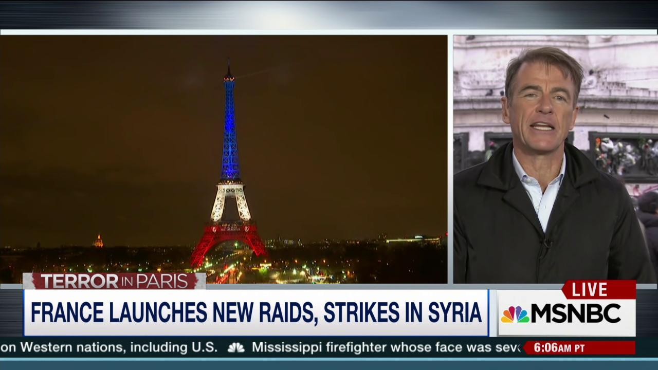 France launches new raids