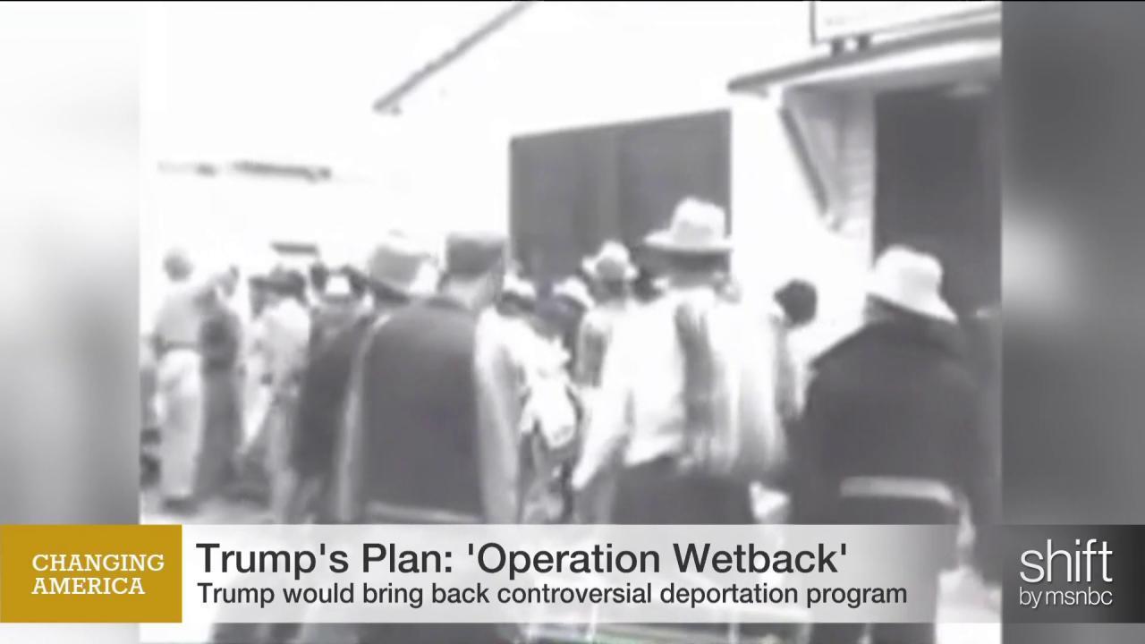 'Operation Wetback' resurfaces at GOP debate