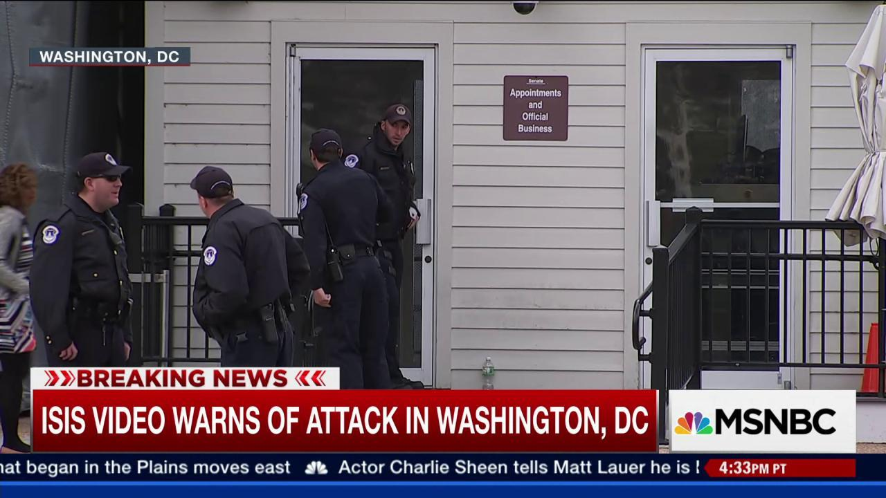 How safe is Washington, DC from ISIS?