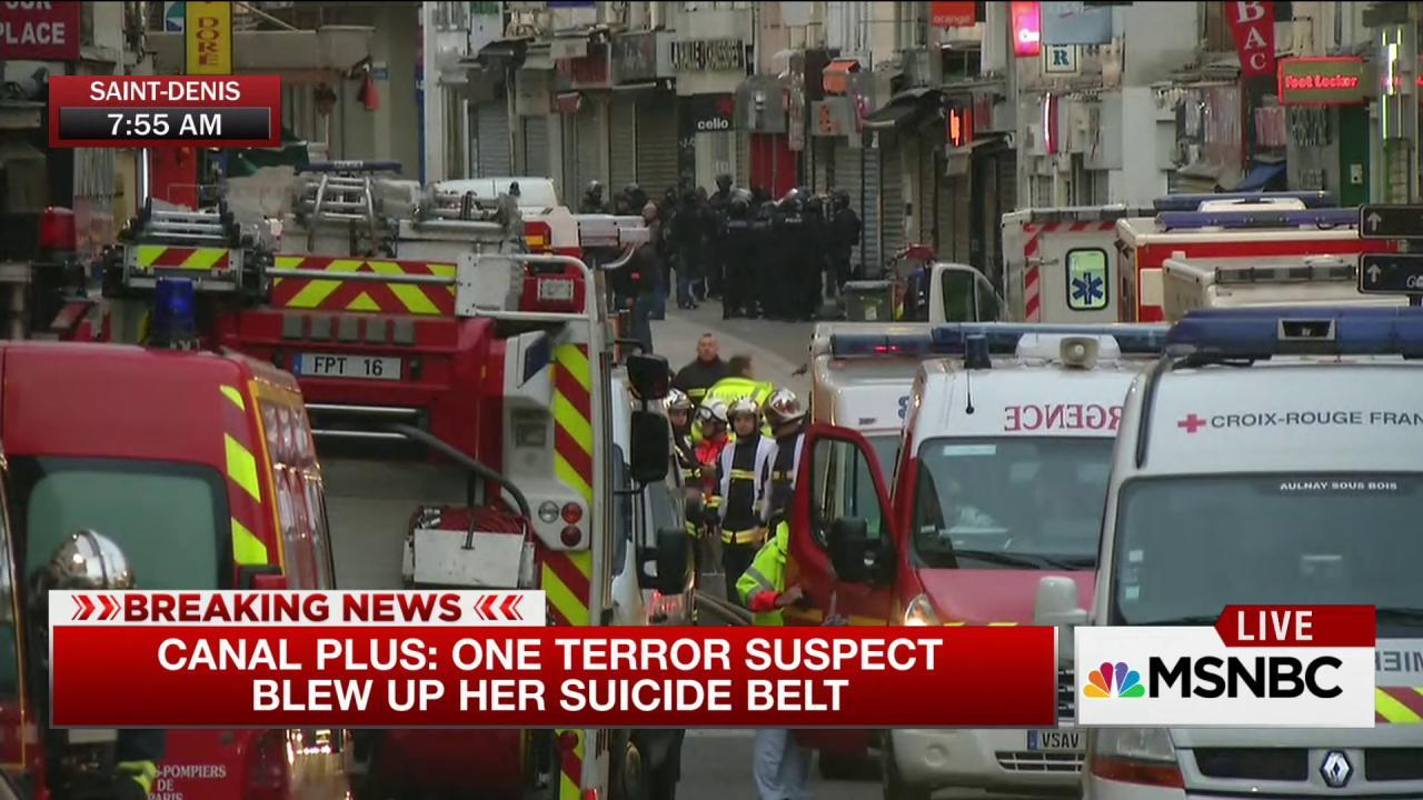 Report: Raid targets Paris attacks mastermind