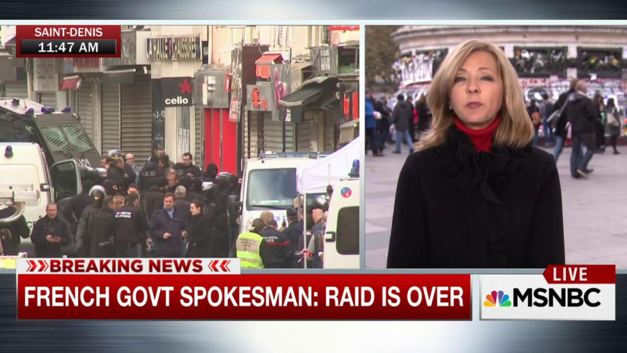 Terror raid now over, says French official