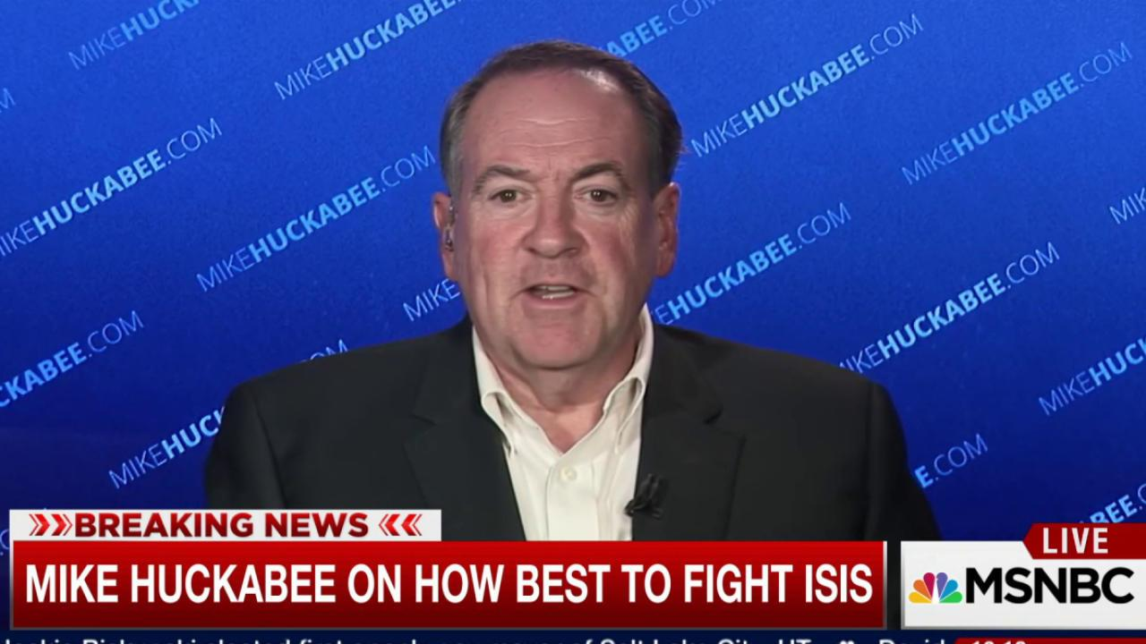 Huckabee: Obama needs to protect America