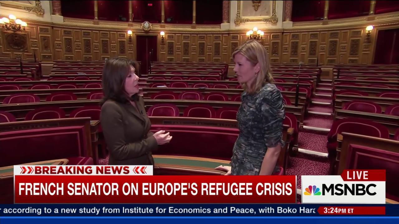 French senator on the fight against terrorism