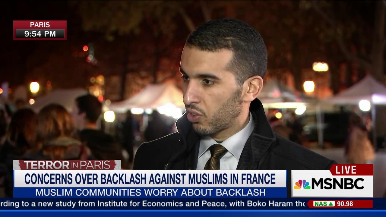 Concern over backlash against French Muslims