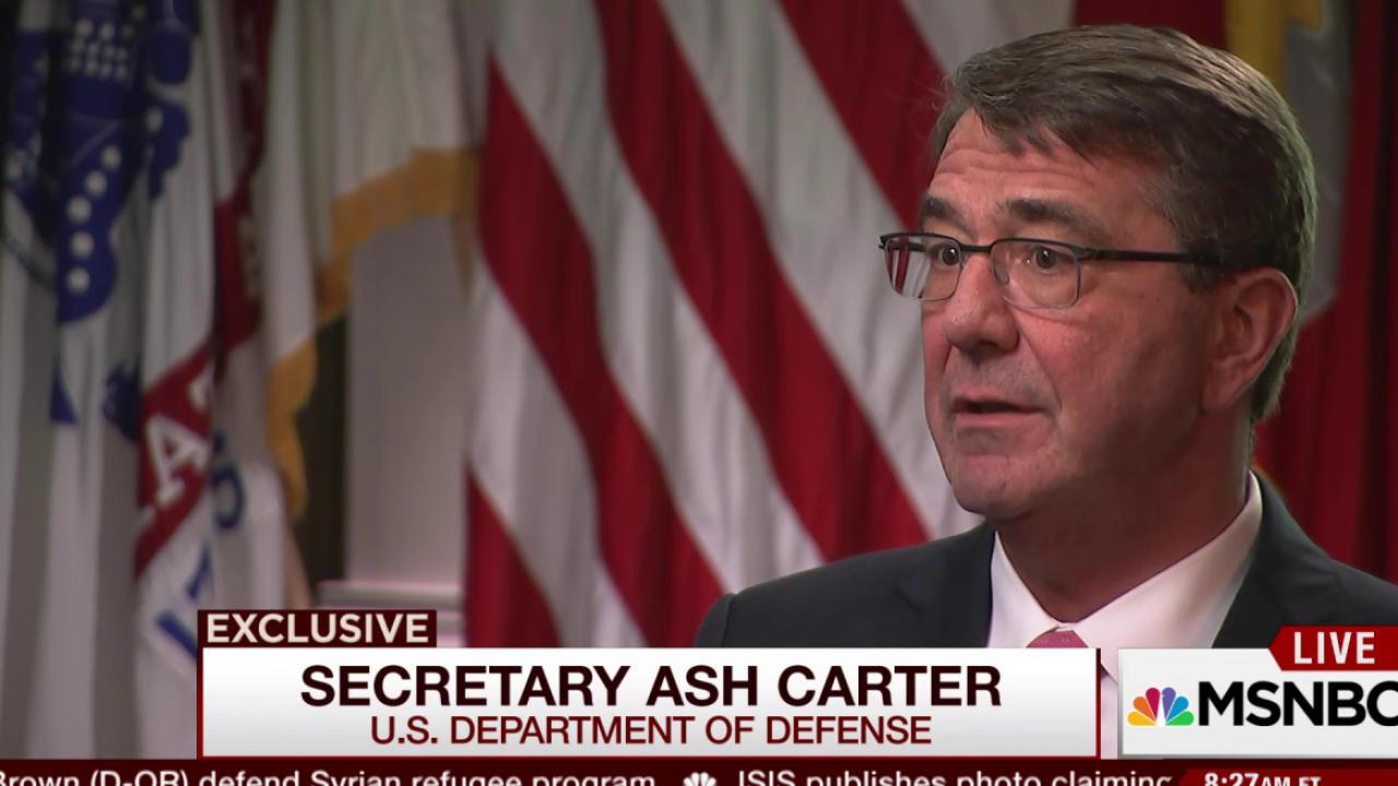 Defense Secretary on drawing tech talent