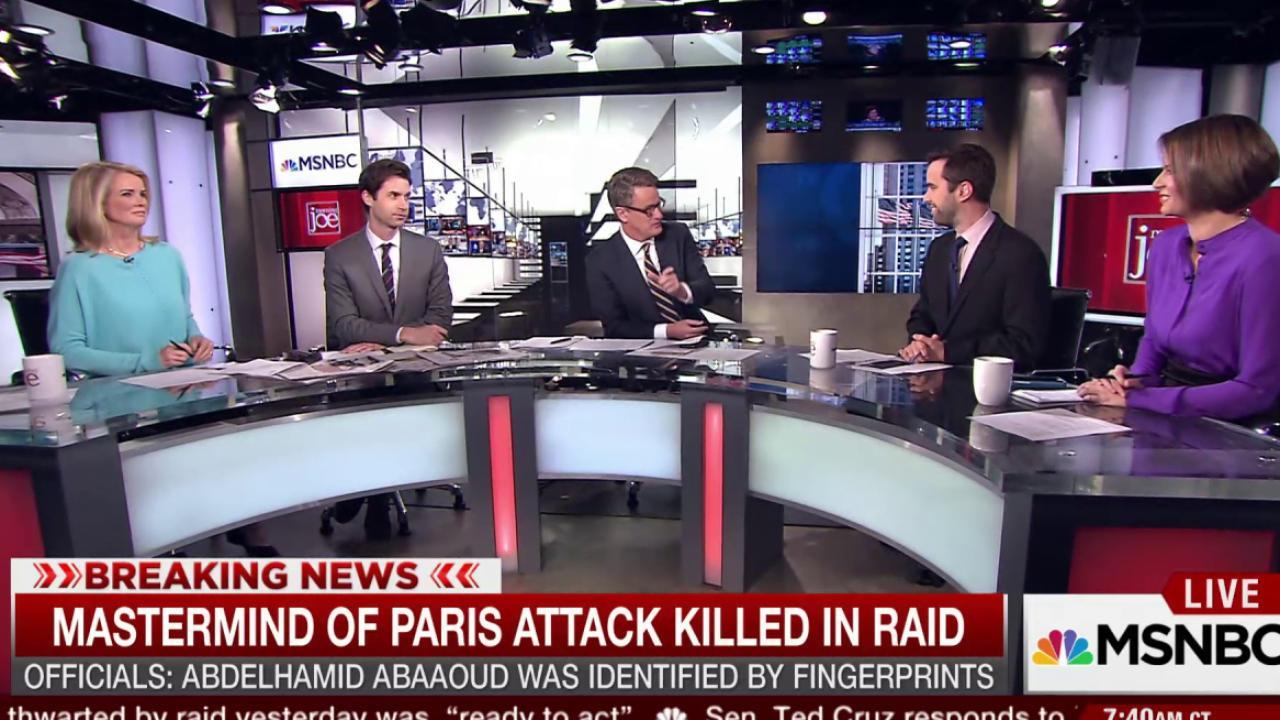 GOP continues responding to Paris attacks